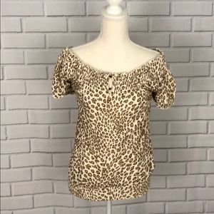 Lucky Brand Off the Shoulder Top Size S